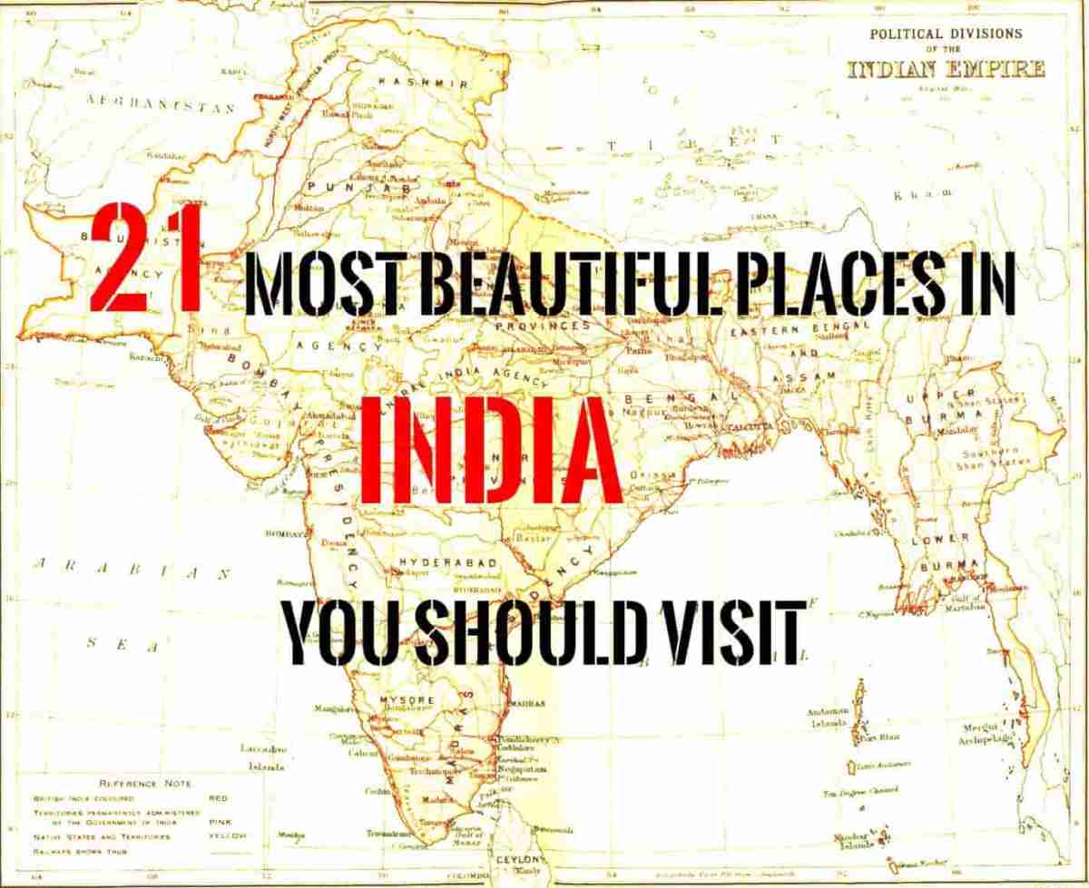 21 Most Beautiful places in India you should visit.